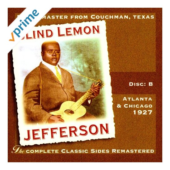 Blind Lemon Jefferson - Christmas Eve Blues / Happy New Year Blues